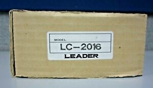 Leader Lc 2016 Oscilloscope scope Cover Front Panel Protector