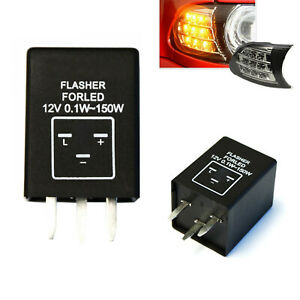 3 Pin Ep28 Electronic Led Flasher Relay Fix Turn Signal Bulbs Hyper Flash Issue