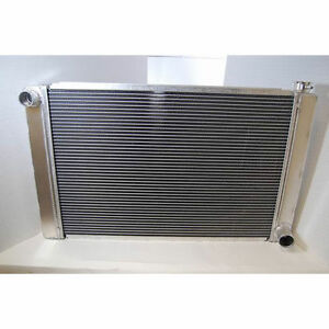 29 X 19 New Universal Aluminum Racing Radiator Heavy Duty Chevrolet Gm Chevy