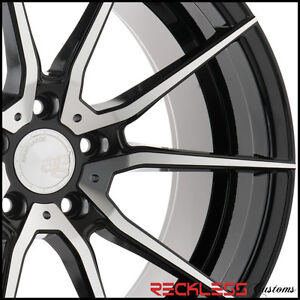 19 Avant Garde Ag M652 Black Machined Concave Wheels Rims Fits Toyota Camry