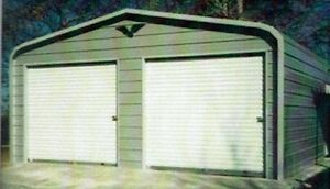 24x26 Steel Metal Garage Storage Building Carport Free Del Installation