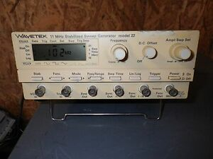 Wavetek 11mhz Stabilized Sweep Generator Model 22