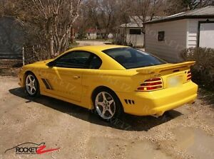 94 98 Ford Mustang S351 Saleen Style Rear Spoiler Wing 2dr Canada Usa
