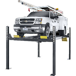 Bendpak Hd14t 4 post 14 000 Lb Capacity Tall Lift 82 Rise