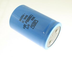 Ucc 120000uf 50v Large Can Electrolytic Capacitor 36da124g050dd2a