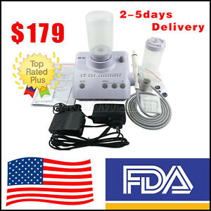E1 Dental Portable Ultrasonic Piezo Scaler Handpiece Bottles Fit Ems Woodpecker