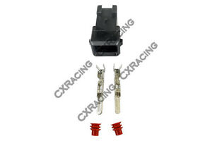 Cx Fuel Injector Connector Wiring Plug Clip Terminal For Bosch Ev1 Male Ls1 Lsx