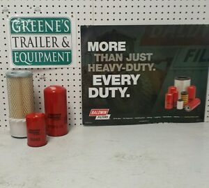 Hustler 4500 Tractor Filters W ford Eng