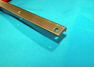 Vrd 2 39 5 8 2 V track Steel Drilled Cnc Actuator Guide Rail V groove Bearing