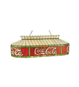 Coca Cola Stain Glass Billiards Light Hanging Ceiling Lighting 32