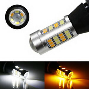 42 Smd 1156 7506 Switchback Led Bulbs For Daytime Running Lights Turn Signals