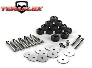 Teraflex Jk 1 25 Body Lift Spacer Kit For 2007 2018 Jeep Wrangler Jk 4152100