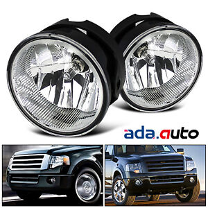 2007 2014 Ford Expedition 2008 2011 Ranger Fog Lights Bumper Lamps Pair