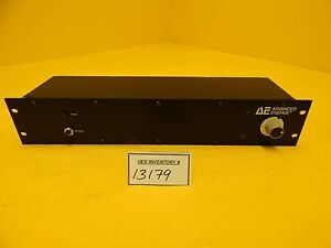 Mdx Ae Advanced Energy 3152243 002a Channel Select Panel Used Working