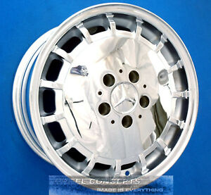 Mercedes 190 15 Inch Chrome Wheels Rims 15 2014001202 201 Type 15x6 0 65143