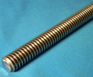 1 2 10 X 36 Inch 3 Foot 1 Start Acme Threaded Rod For Lead Screw Made In Usa