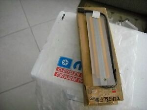 Nos Mopar 1974 Seat Belt Center Cushion Beam Switch cuda gtx charger dart