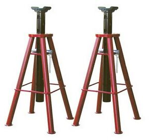 10 ton Capacity High Lift Jack Stands Atd 7447 Brand New