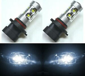 Led 50w 9005xs Hb3a White 5000k Two Bulbs Head Light High Beam Replacement