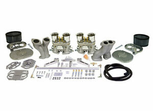 Vw Type 1 Empi Ultra Hpmx Weber Idf Dual 40mm Carb Kit W Billet Linkage