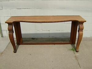 Antique Vintage Petticoat Mirror Stand Missing Mirror And Backboard Piece