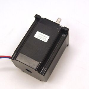 Nema 23 Cnc Stepper Motor 1 9nm 269oz in 8mm Shaft For Cnc Mill Lathe Router