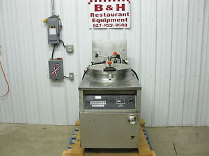 Bki Industries Electric Chicken Fish Pressure Fryer W o Filter System Fkm fc