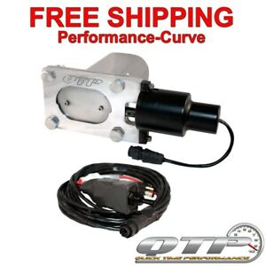 Qtp Quick Time Performance Electric Exhaust Cutout Low Profile Stainless Qtec33