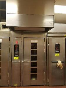 Hobart Natural Gas Ho210g1 Single Rack Bakery Roll In Oven