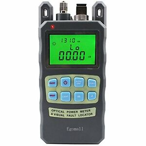 New Egomall Fiber Optic Cable Tester Portable Optical Power Meter Free Shipping