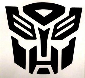 Autobot Transformers Funny Cool Car Truck Window Vinyl Decal Sticker 12 Colors