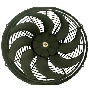 16 Reversible Electric 12v Universal Auto Cooling Radiator Fan