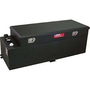 Rds 72548pc 60 Gallons Fuel Transfer Tank Toolbox Combo Black Powdercoated