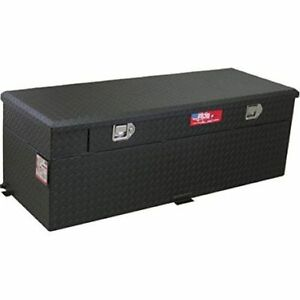Rds 72743pc 60 Gallons Auxiliary Fuel Transfer Tank Toolbox Combo Black Finish