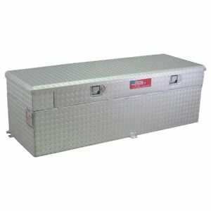 Rds 72743 60 Gallons Auxiliary Fuel Transfer Tank Toolbox Combination Aluminum