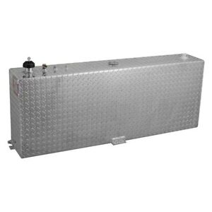 Rds 71083 45 Gallons Vertical Fuel Transfer Tank Treadplate Finish Fits 5 Beds