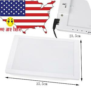 Wall Mounted Dental X ray Film Instant Illuminator Light Box Viewer Panel A4