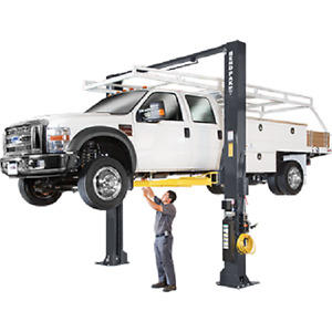 Bendpak Xpr 18cl 192 Extra tall 18 000 Lb 2 Post Clearfloor Super duty Lift
