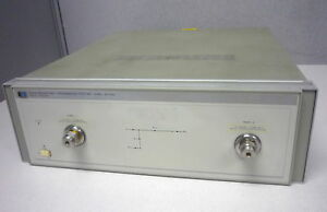 Hewlett Packard Hp Agilent 8513a Reflection Transmission Test Set 45 Mhz 26 5ghz