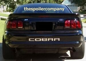 For Ford Mustang Convertible Un painted saleen style Rear Spoiler 1994 1998