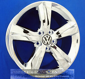 Volkswagen Vw Passat Sonoma 17 Inch Chrome Wheel Exchange Rims 17 Oem