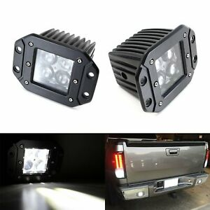 Flush Mount 4d Projector Led Pod Lights For Truck Jeep Off Road Fog Or Backup