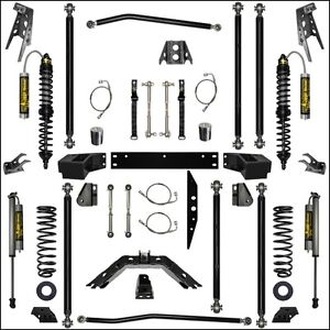 Rock Krawler 3 5 Off Road Pro Long Arm Coil Over Stage 2 07 18 Jeep Jku 4d