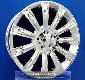 Lincoln Mks Mkx 20 Inch Chrome Wheel Exchange 20 Rims New 3764 3854