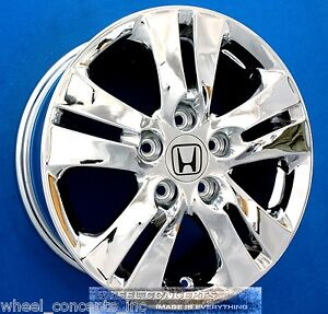 Honda Accord Sedan 16 Inch Chrome Wheel Exchange New Oem 16 Rims 63935 64014