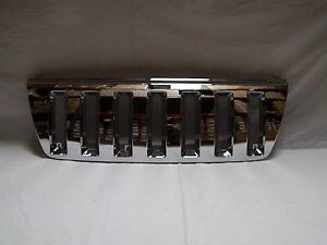 Front Chrome Grille Jeep Grand Cherokee 99 04 Grz2 Gcrk 9904 Cm Fits Jeep