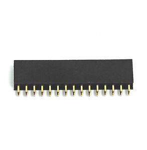 200pc Pin Female Header Pitch 2 54x2 54mm H 8 5mm Straight Type 2x15p 2x15 30p
