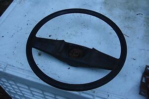 73 87 Chevy Blazer Gmc Truck Jimmy Suburban Black Steering Wheel Oem