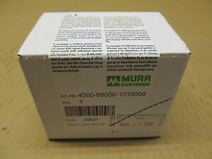 1 Nib Murr Elektronik 4000 68000 1010000 4000680001010000 Connector Sealed