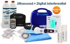 Us Pro 2000 Portable Ultrasound Inf Digital Tens Ultimate Therapy Bundle